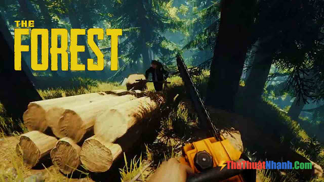 Top game sinh tồn PC - The Forest