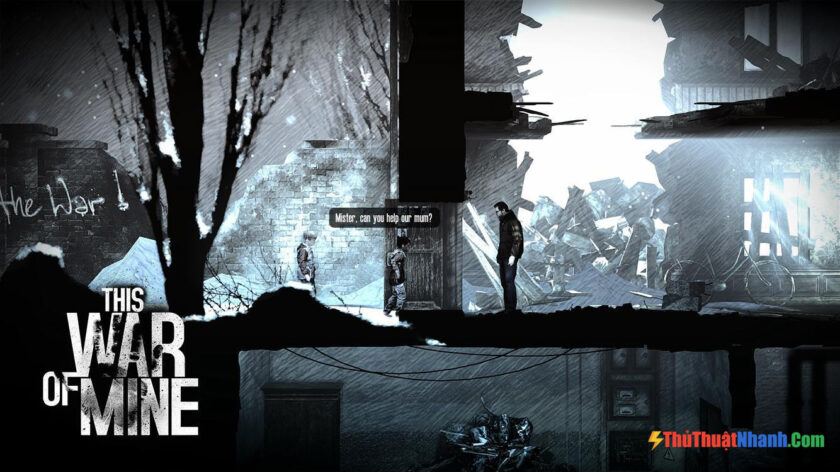 Top game sinh tồn PC - This War of Mine