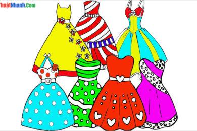 Tranh tô màu đẹp nhất dành cho bé gái 7 tuổi