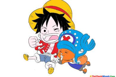 tranh tô màu One Piece cho bé