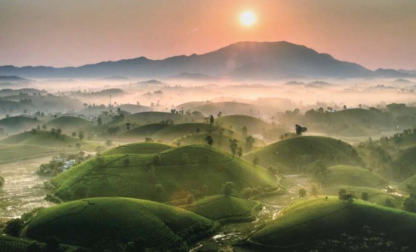 hình ảnh đẹp Việt Nam - tác phẩm Đón Nắng