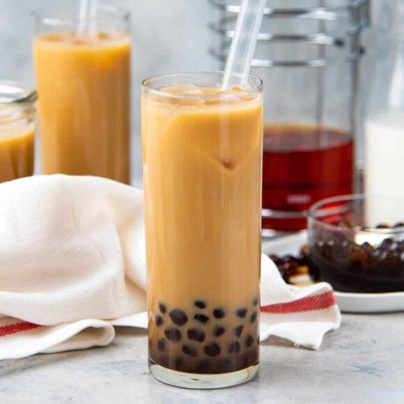 hình ảnh trà sữa đẹp tự làm