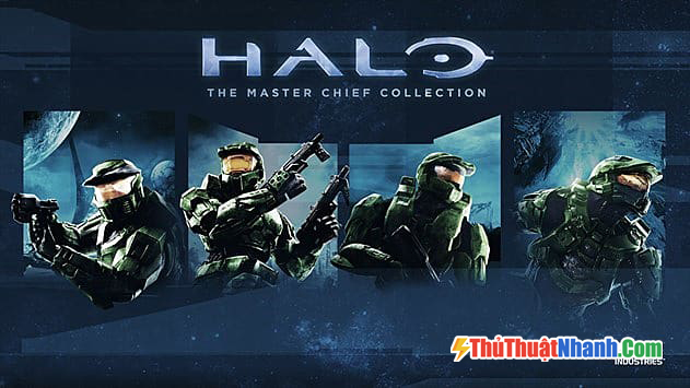 Top game bắn súng PC Halo The Master Chief Collection