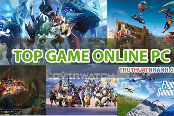 top game online pc hay nhất