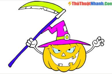 Tranh tô màu Halloween