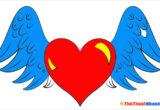 Tranh tô màu hình trái tim