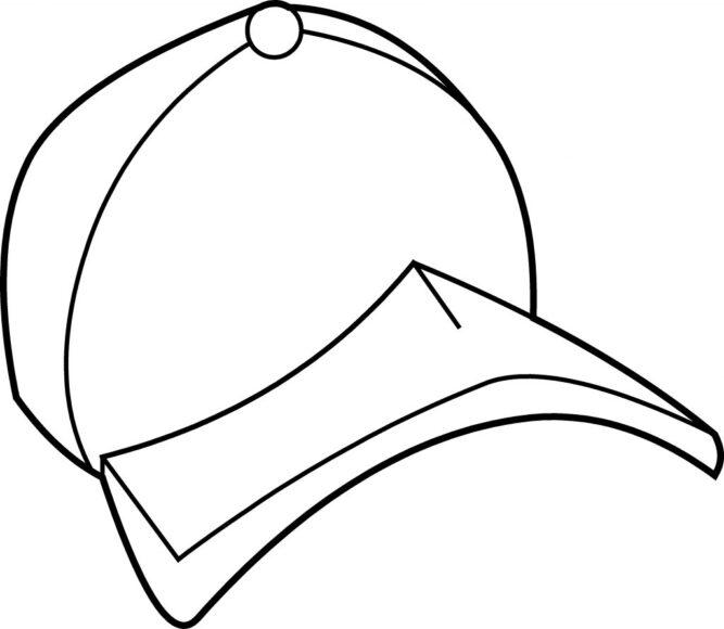 Tranh tô màu mũ dành cho bé trai