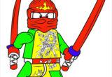 Tranh tô màu Ninjago