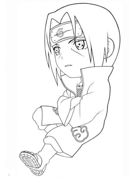 Tranh vẽ Naruto đẹp nhất cho bé tập tô