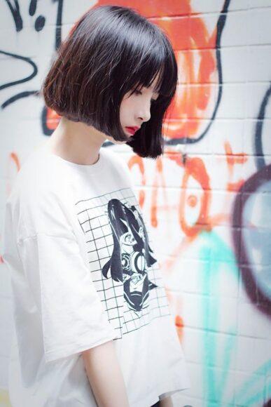 ảnh gái xinh tóc ngắn 2k5 cute