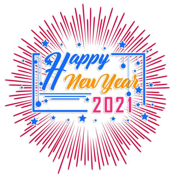hình nền chúc mừng năm mới 2021 pháo hoa (2)