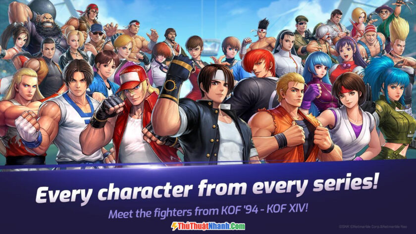 The King of Fighters AllStar - Game hành động đối kháng