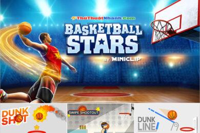 Top game bóng rổ offline và online hay nhất trên di động