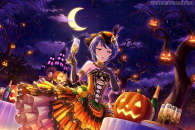hình ảnh anime halloween đẹp cho otaku