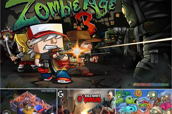 Top game Zombie Mobile mới nhất