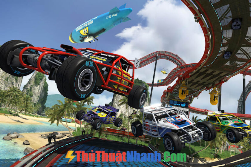 Trackmania Turbo- Game đua xe