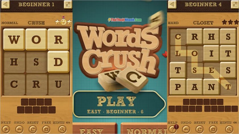 Words Crush Hidden Words