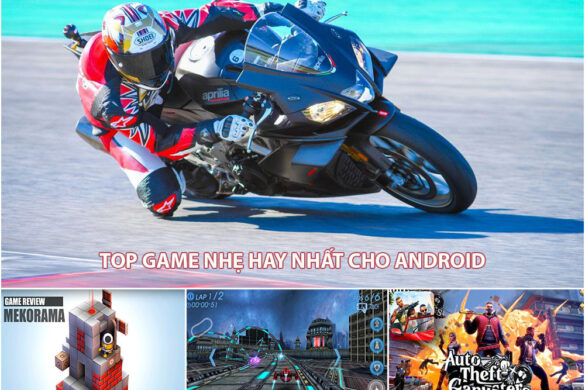 top game nhẹ hay nhất cho Android