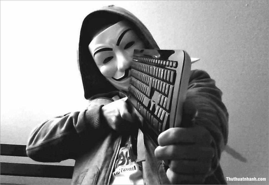 Hình ảnh hacker, Anonymous chất, ngầu đẹp nhất